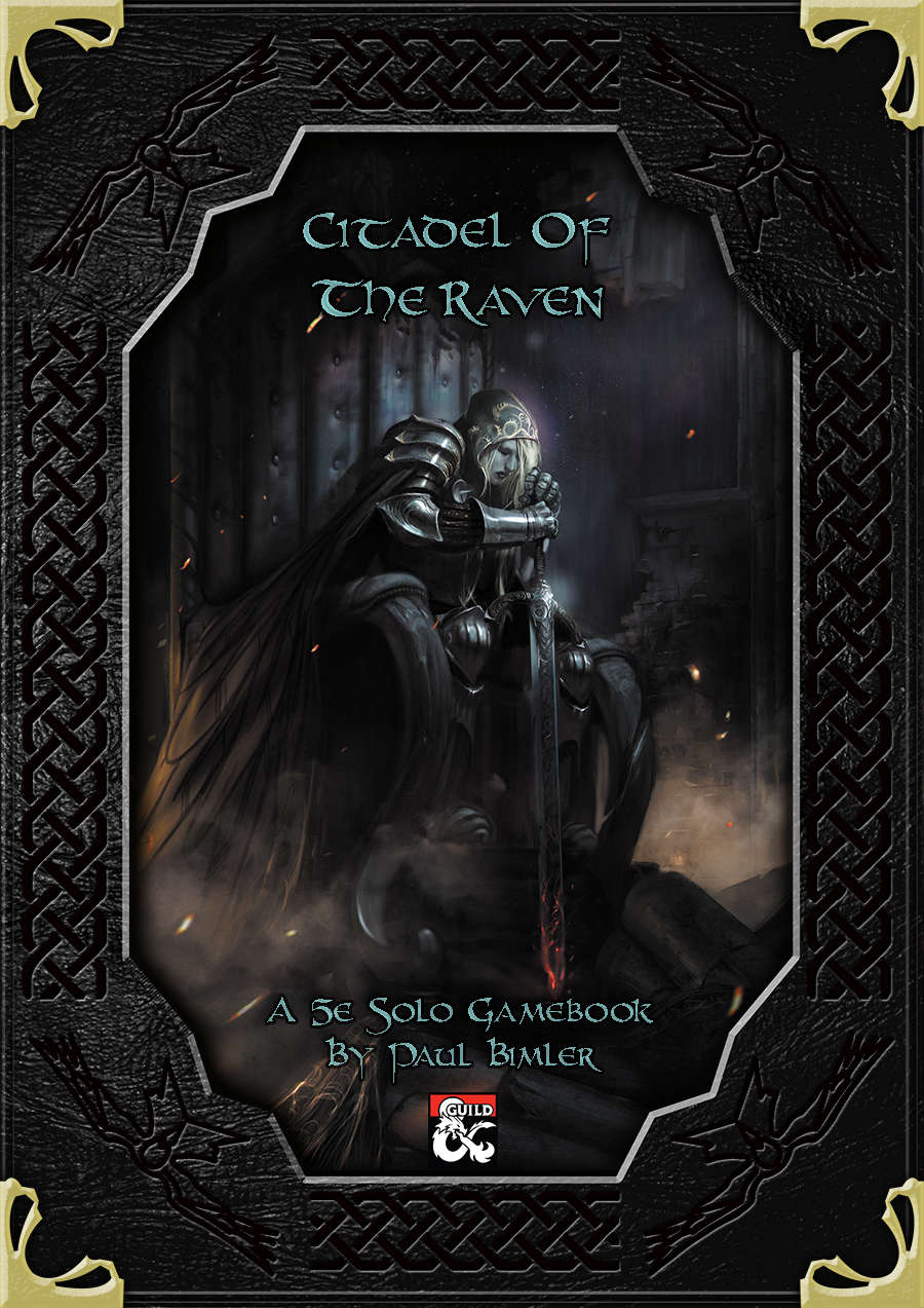 Cover of Citadel of the Raven