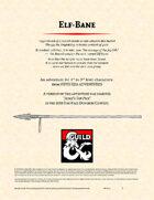 Elf-bane