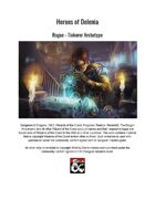 Rogue - Tinkerer Archetype (5th Edition Subclass)