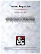 Inspiration Variant - Inspiration Lore Shop