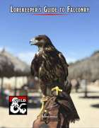 Lorekeeper's Guide to Falconry