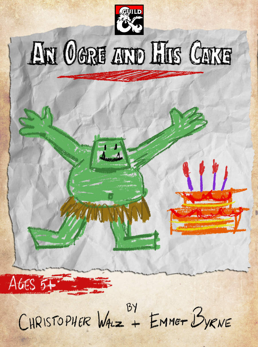 An Ogre and His Cake - Digital