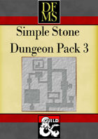 DFMS Simple Stone Dungeon Pack 3