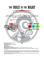 CCC-TRI-14 The Voice in the Night (Part Three of the Yulash Series)