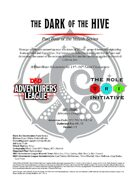 CCC-TRI-15 The Dark of the Hive (Part Four of the Yulash Series)