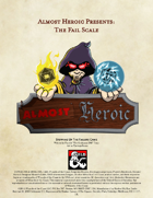 Almost Heroic Presents:  The Fail Scale