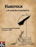 Harefolk: A Player Race for D&D 5E