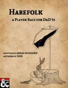 Harefolk: A Player Race for D&D 5E