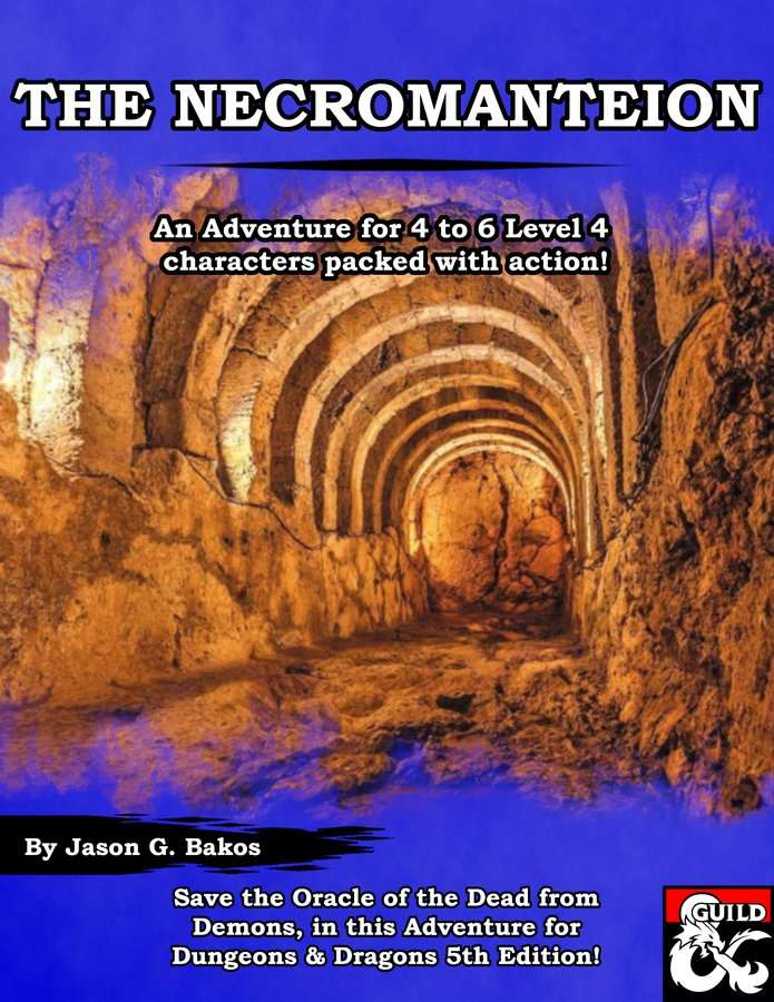 Cover of The Necromanteion