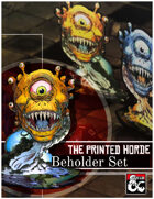 The Beholder Paper Miniature Set