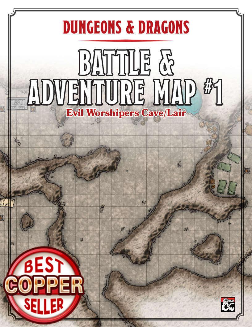 Evil Worhipper Cave/Lair Battle Map Link