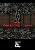Modular Tile Set - Caverns