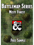 Battlemaps - Misty Forest Free Sample