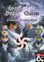 Hoard of the Dragon Queen-Papercraft Trophies & Minis