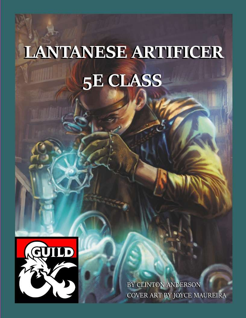 Lantanese Artificer Dungeon Masters Guild Dungeon Masters Guild