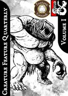 Creature Feature Quarterly vol.1 (Fantasy Grounds)