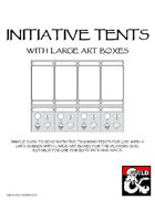 Simple Large Art Initiative Tents