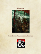 Corsair: A 5e Class with 3 Archetypes