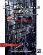 Lawyers of Eberron! Resources for Legal Thrillers in Eberron