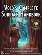 Volo's Subraces Fantasy Grounds Module