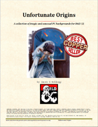 Unfortunate Origins: A 5E Background Bundle