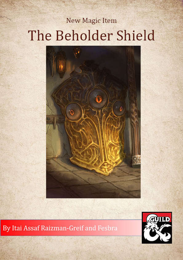 The Beholder Shield - Dungeon Masters Guild   Dungeon