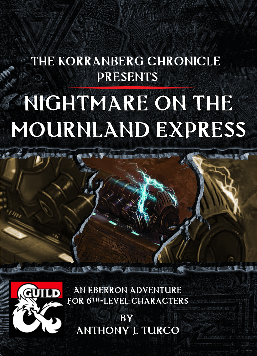 The Korranberg Chronicle: Nightmare on the Mournland Express - Dungeon  Masters Guild | Dungeon Masters Guild