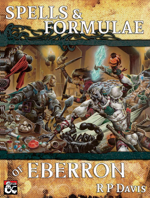 Spells Amp Formulae Of Eberron Dungeon Masters Guild