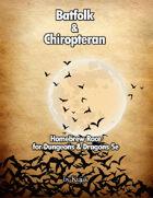 Batfolk Race with Chiropteran Variant