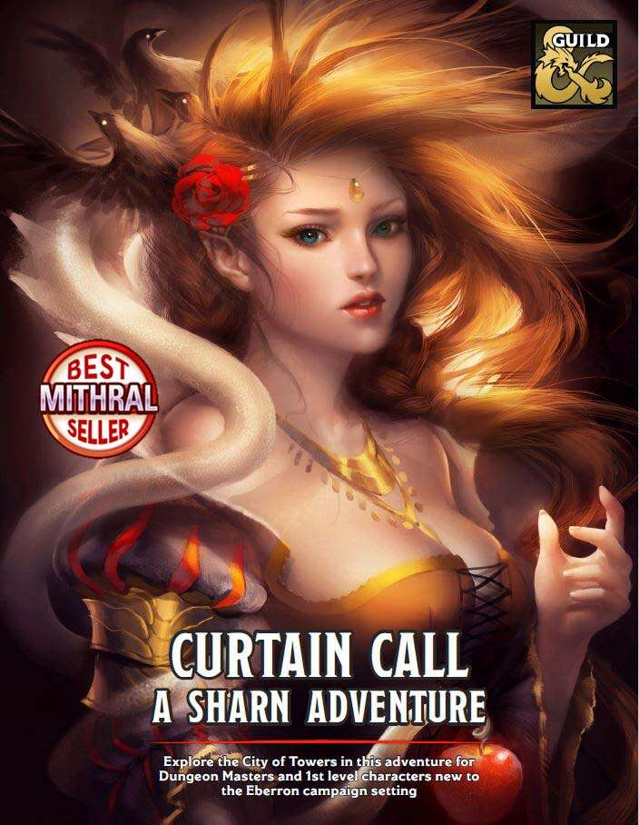 Cover of Curtain Call: A Sharn Adventure