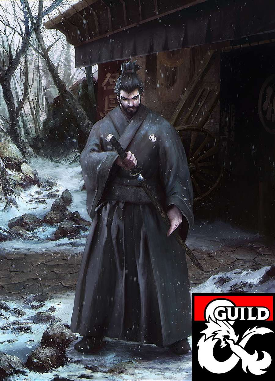 The Ronin Samurai Variant Dungeon Masters Guild Dungeon Masters Guild
