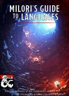 Milori's Guide to Languages