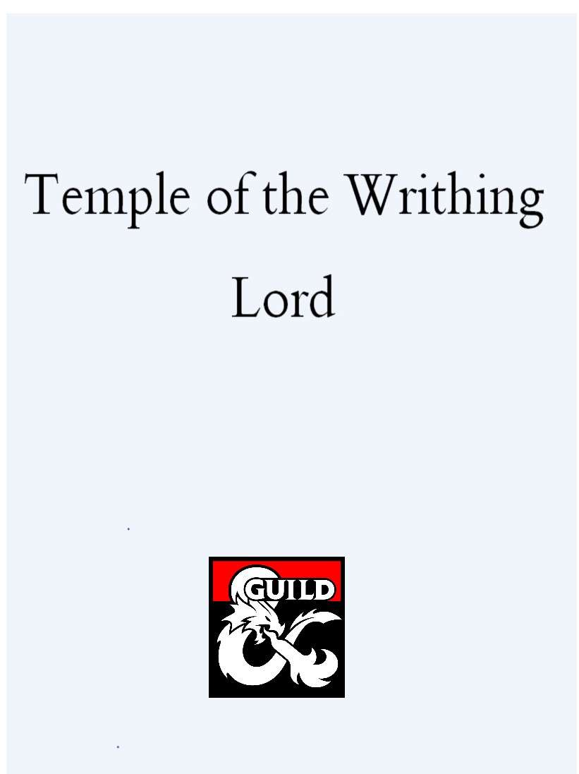 Temple of the Writhing Lord