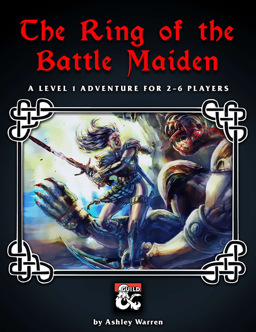 Cover of THE RING OF THE BATTLE MAIDEN
