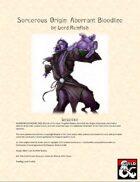 Sorcerous Origin: Aberrant Bloodline