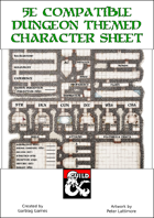 5e Compatible Dungeon-themed Character Sheet v1