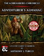 The Korranberg Chronicle: Adventurer's Almanac
