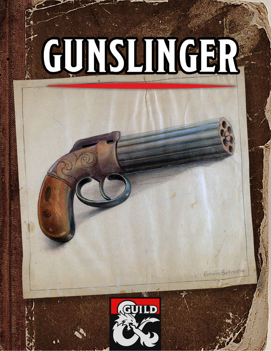 Gunslinger Revised Dungeon Masters Guild Dungeon Masters Guild
