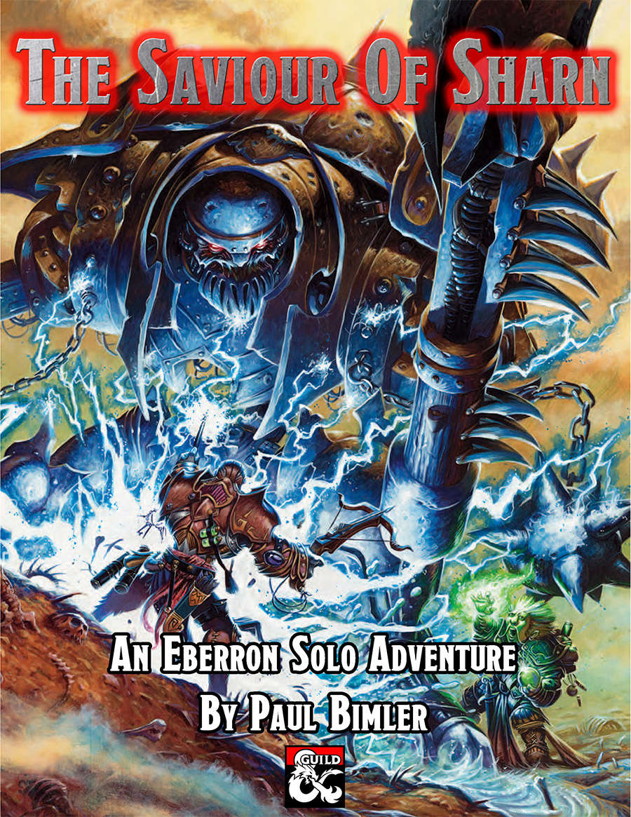 Cover of The Saviour of Sharn
