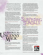 The Emporium of Uncanny Magic — Surprising Scrolls