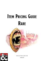 Item Pricing Guide: Rare