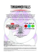CCC-TRI-09 Tinhammer Falls (Prelude to the Beholder Corps series)