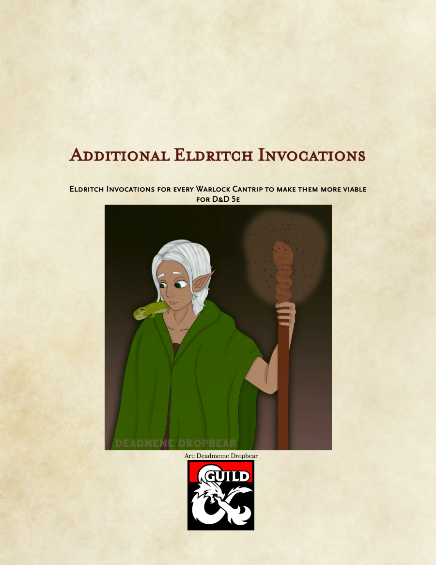 Eldritch Invocations for Warlock Cantrips - Dungeon Masters