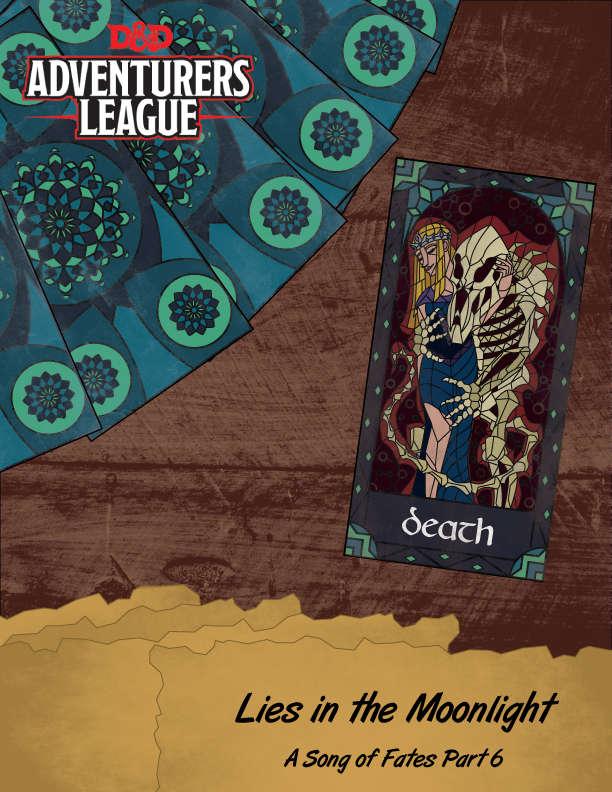CCC-TAROT01-06 Lies in the Moonlight cover art