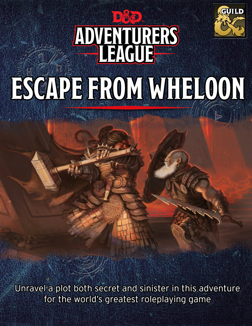 Cover of Escape form Wheloon