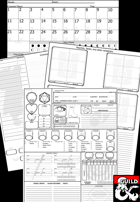 OneNote Template for D&D 5e - Dungeon Masters Guild