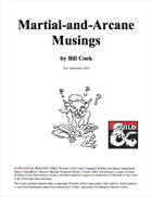 Martial-and-Arcane Musings