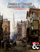 Denizens of Waterdeep - Backgrounds for a Heist