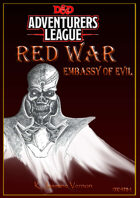 CCC-ST2-1 Red War: Embassy of Evil