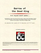 The Barrow of the Dead King